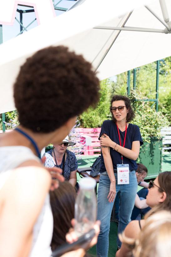 Festival Zero Waste deuxième édition au Cabaret Sauvage, Paris, juin 2018 © Marie Guerre