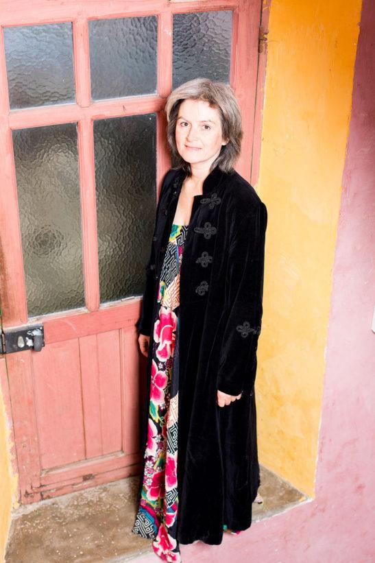 Portrait de mode en extérieur