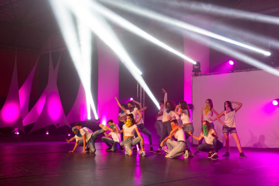 Spectacle de danse moderne