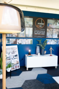 Mélange de vintage et de contemporain sur le stand de l'Atelier Asa-i