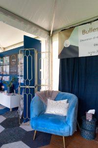 Stand d'Aurélie Hamers, créatrice de Bulles et Cocon